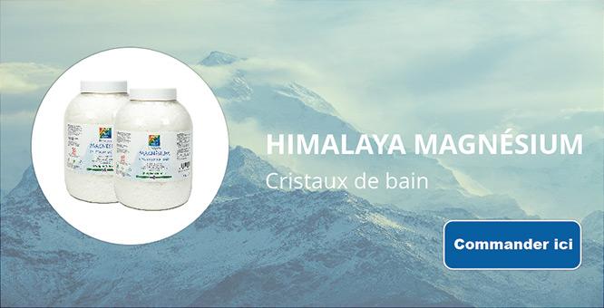 Himalaya magnésium cristaux de bain